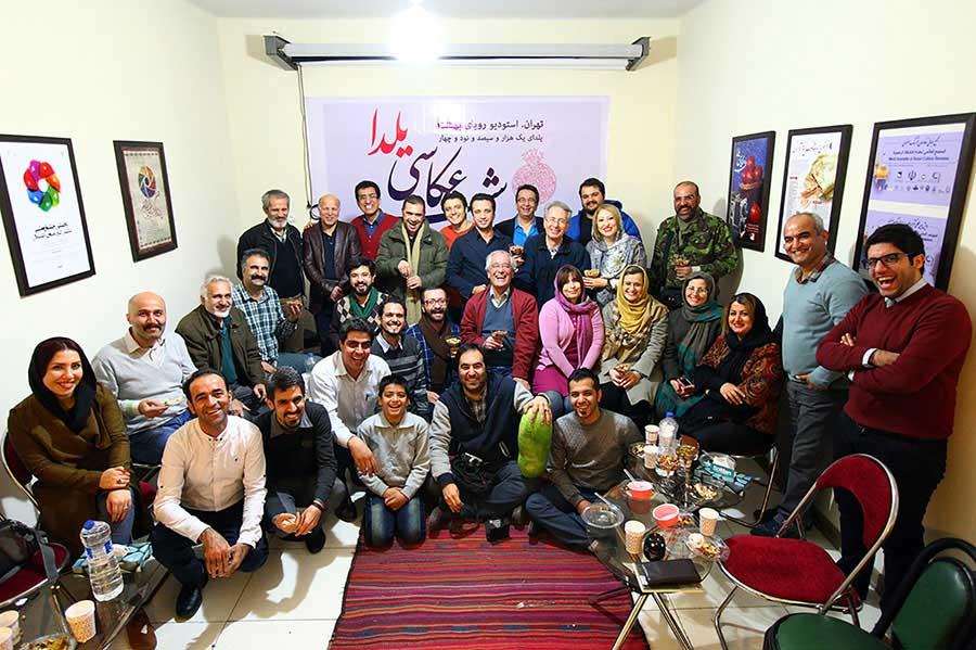 شب عکاسی یلدا» با نمایش عکسهای هنرمندان عکاس کشور همراه شد ...«شب عکاسی یلدا» با نمایش عکسهای هنرمندان عکاس کشور همراه شد