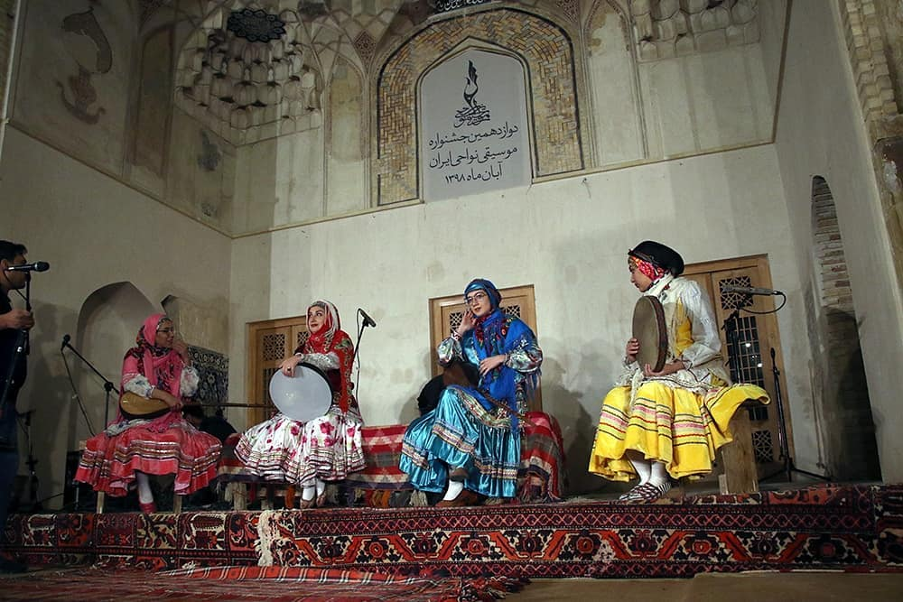جشنواره موسیقی نواحی ایران | کرمان | آبان 1398